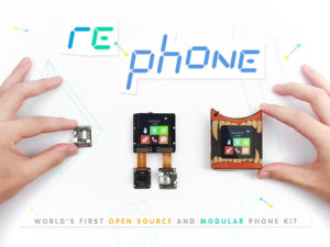 RePhone DIY Cell Phone Kit - OPEN SOURCE MODULAR PHONE KIT FOR ULTIMATE CUSTOMIZATION